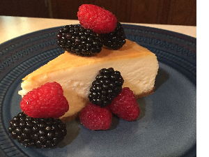 Picture of Jen's made from scratch Cheesecake