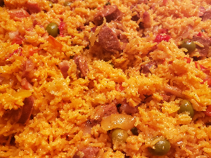 Picture of Carribean rice