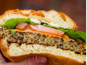 Picture of Vegetarian Wild Rice Burger