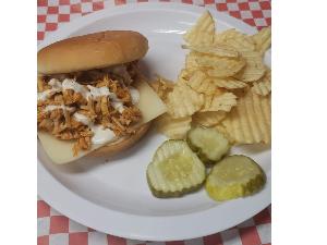 Picture of Buffalo Turkey Sandwich